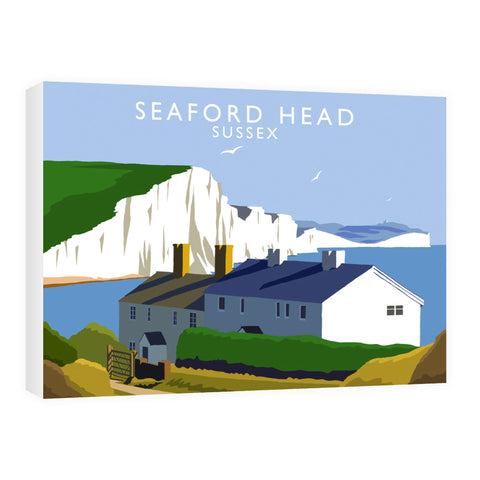 Seaford Head, Sussex 60cm x 80cm Canvas