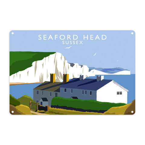 Seaford Head, Sussex Metal Sign