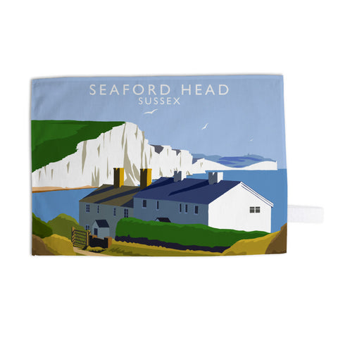 Seaford Head, Sussex Tea Towel