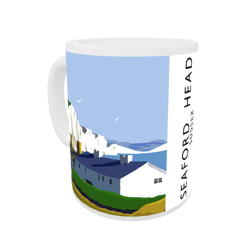Seaford Head, Sussex Coloured Insert Mug
