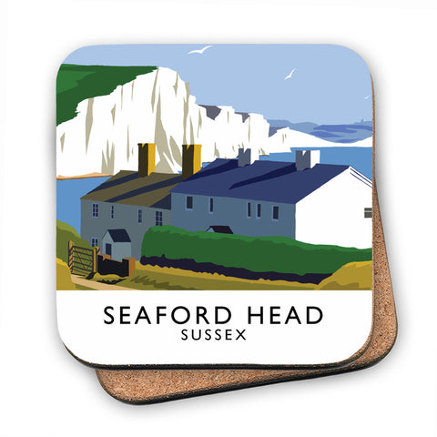 Seaford Head, Sussex MDF Coaster