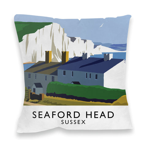 Seaford Head, Sussex Fibre Filled Cushion