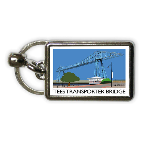 Middlesbrough Metal Keyring
