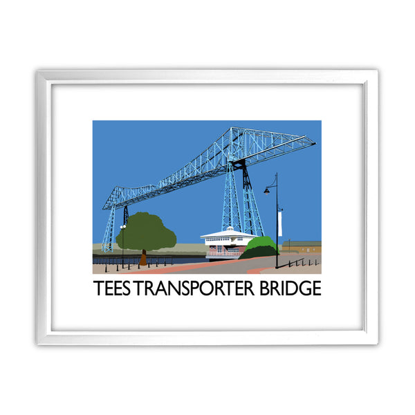 Middlesbrough 11x14 Framed Print (White)
