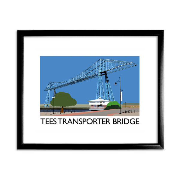 Middlesbrough 11x14 Framed Print (Black)