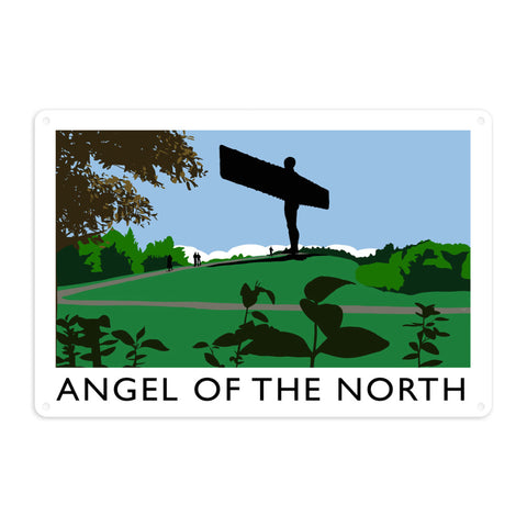 The Angel of the North, Gateshead Metal Sign