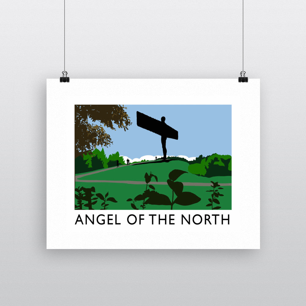 The Angel of the North, Gateshead Fine Art Print