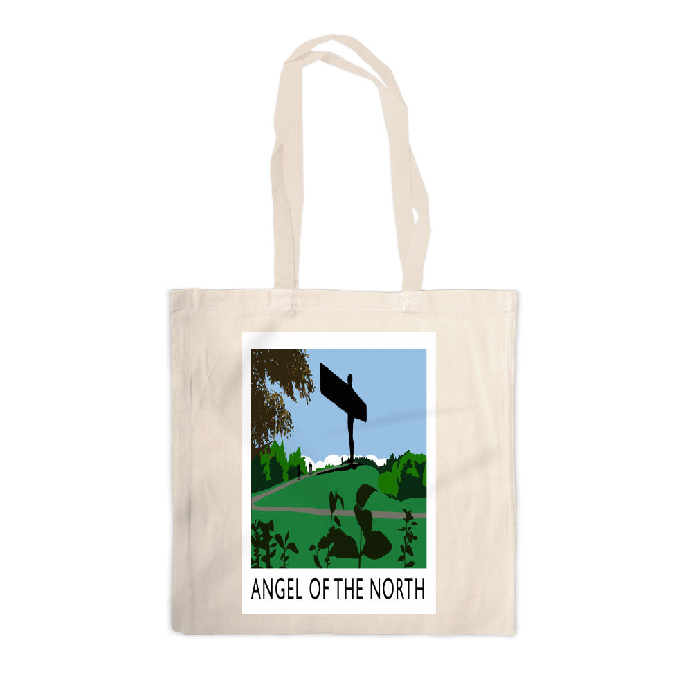The Angel of the North, Gateshead Canvas Tote Bag