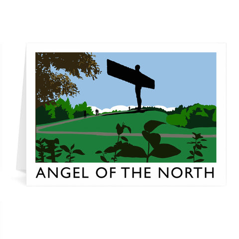 The Angel of the North, Gateshead Greeting Card 7x5