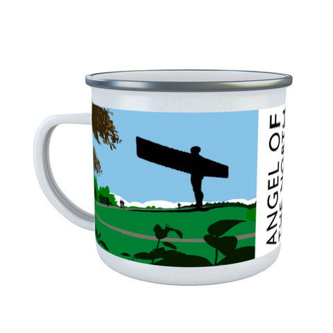 The Angel of the North, Gateshead Enamel Mug