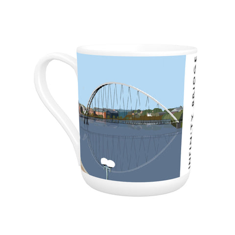 Infinity Bridge, Stockton on Tees Bone China Mug