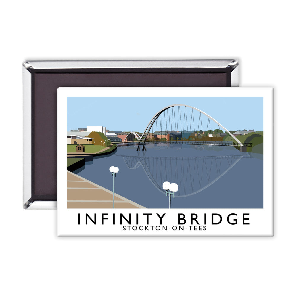 Infinity Bridge, Stockton on Tees Magnet