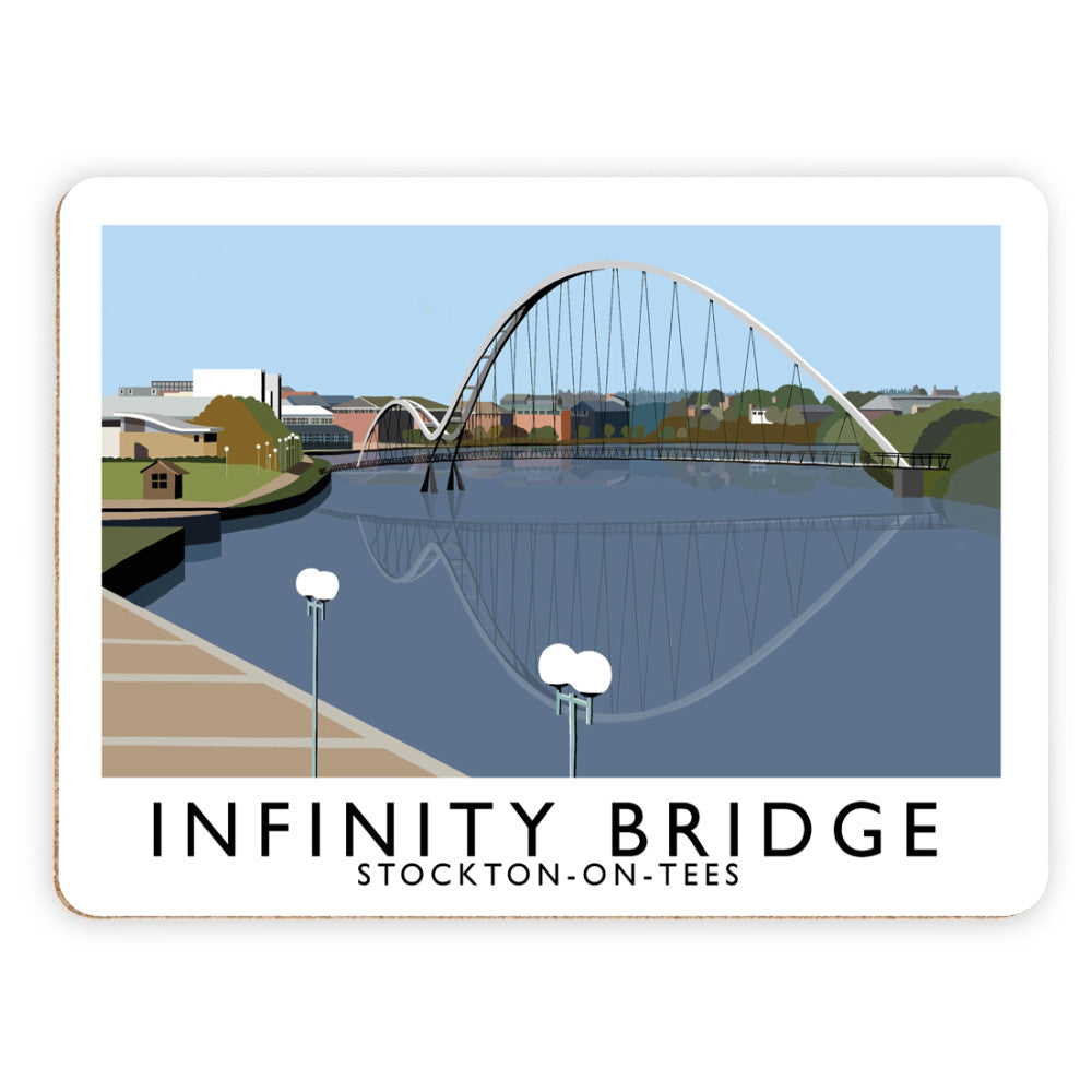 Infinity Bridge, Stockton on Tees Placemat