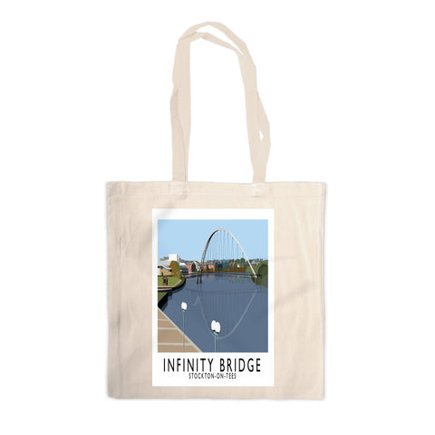 Infinity Bridge, Stockton on Tees Canvas Tote Bag