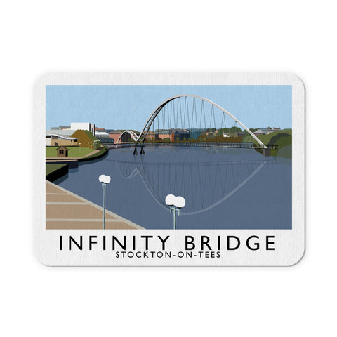 Infinity Bridge, Stockton on Tees Mouse Mat