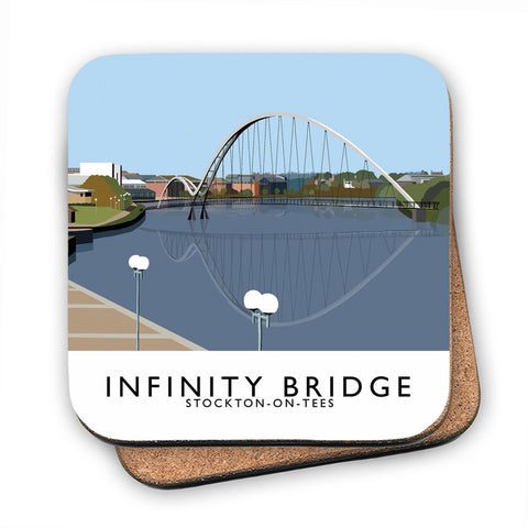 Infinity Bridge, Stockton on Tees MDF Coaster