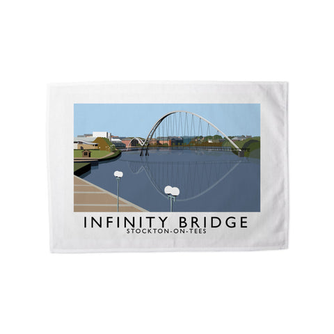 Infinity Bridge, Stockton on Tees Tea Towel