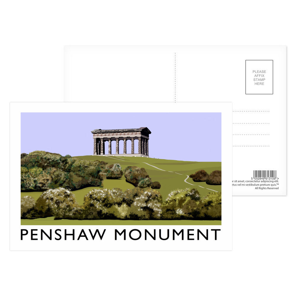 The Penshaw Monument Postcard Pack