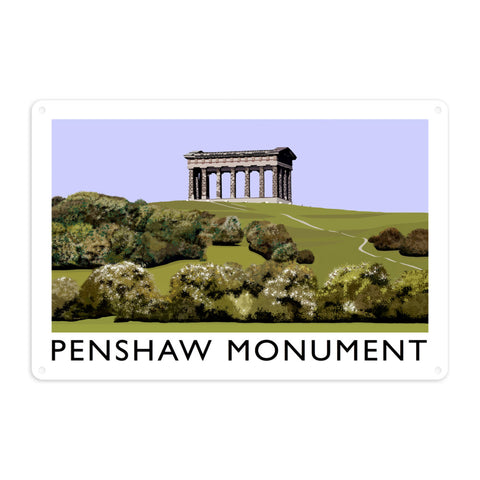 The Penshaw Monument Metal Sign