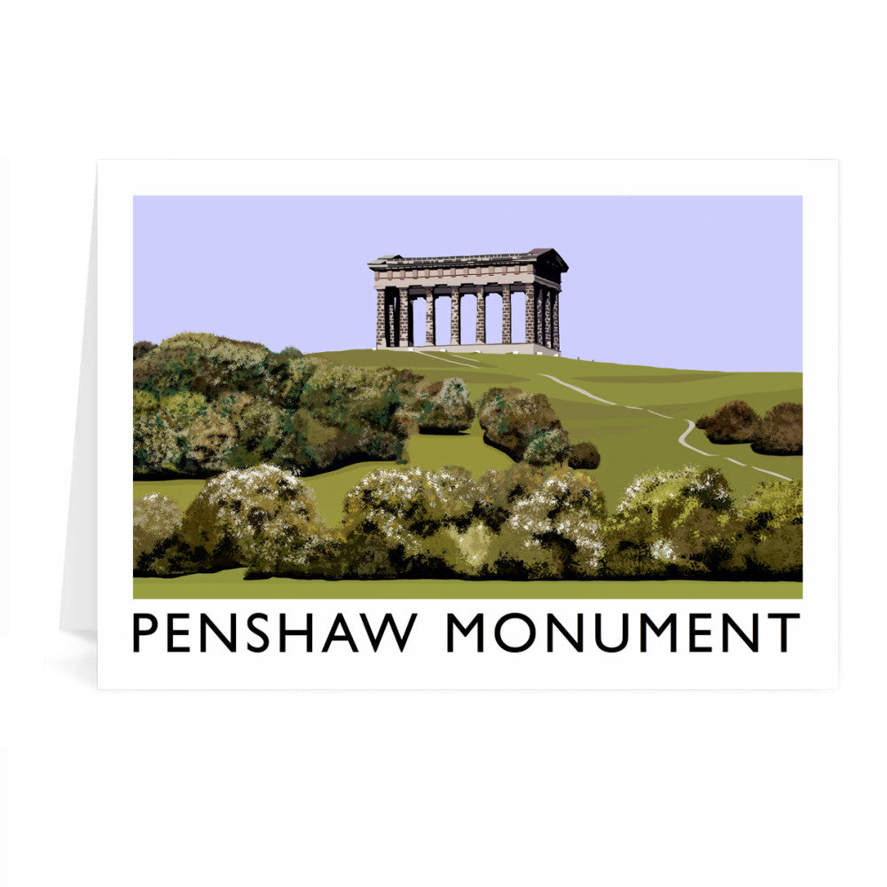 The Penshaw Monument Greeting Card 7x5