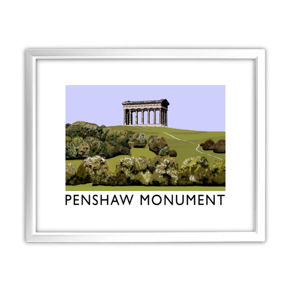 The Penshaw Monument 11x14 Framed Print (White)