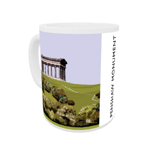 The Penshaw Monument Coloured Insert Mug