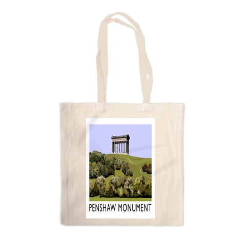 The Penshaw Monument Canvas Tote Bag