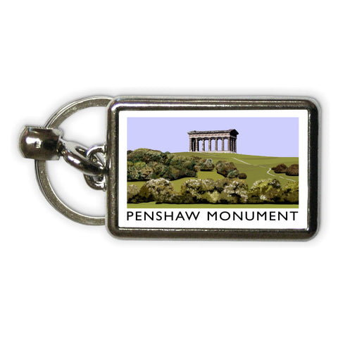 The Penshaw Monument Metal Keyring