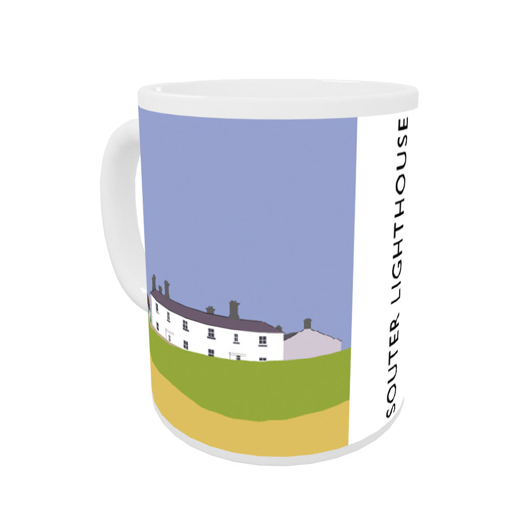 The Souter Lighthouse, Tyne and Wear Coloured Insert Mug