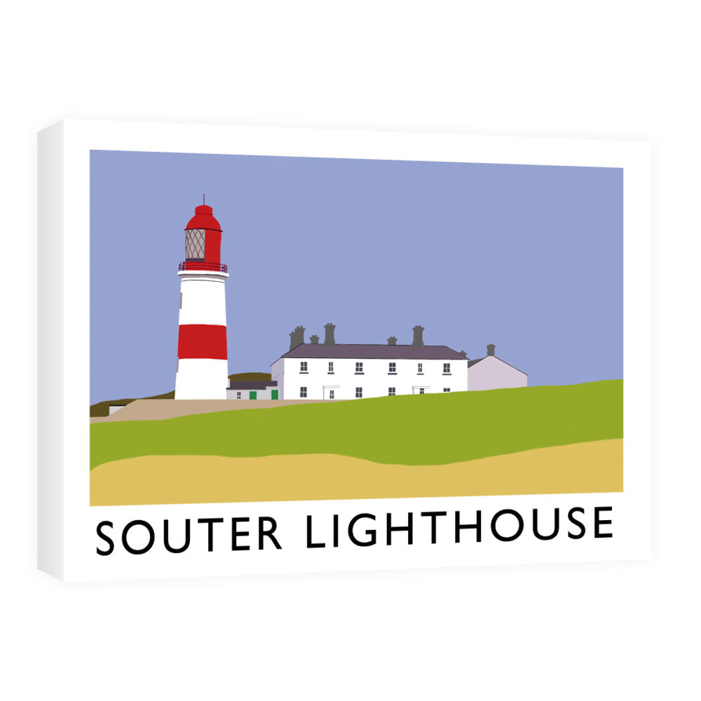 The Souter Lighthouse, Tyne and Wear Canvas