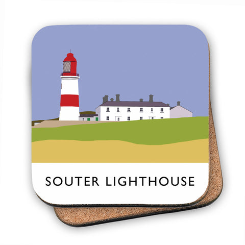 The Souter Lighthouse, Tyne and Wear MDF Coaster