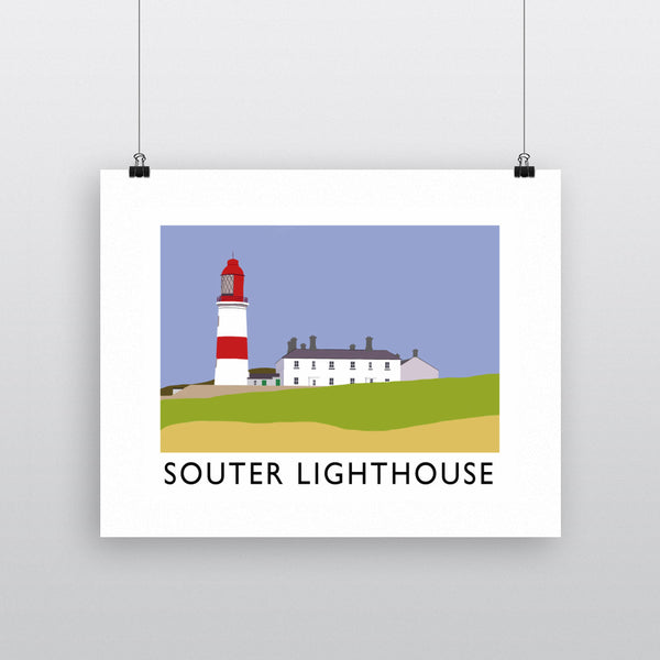 The Souter Lighthouse, Tyne and Wear 11x14 Print