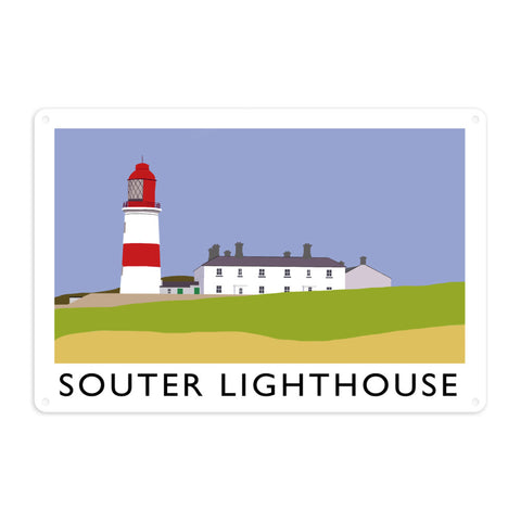 The Souter Lighthouse, Tyne and Wear Metal Sign