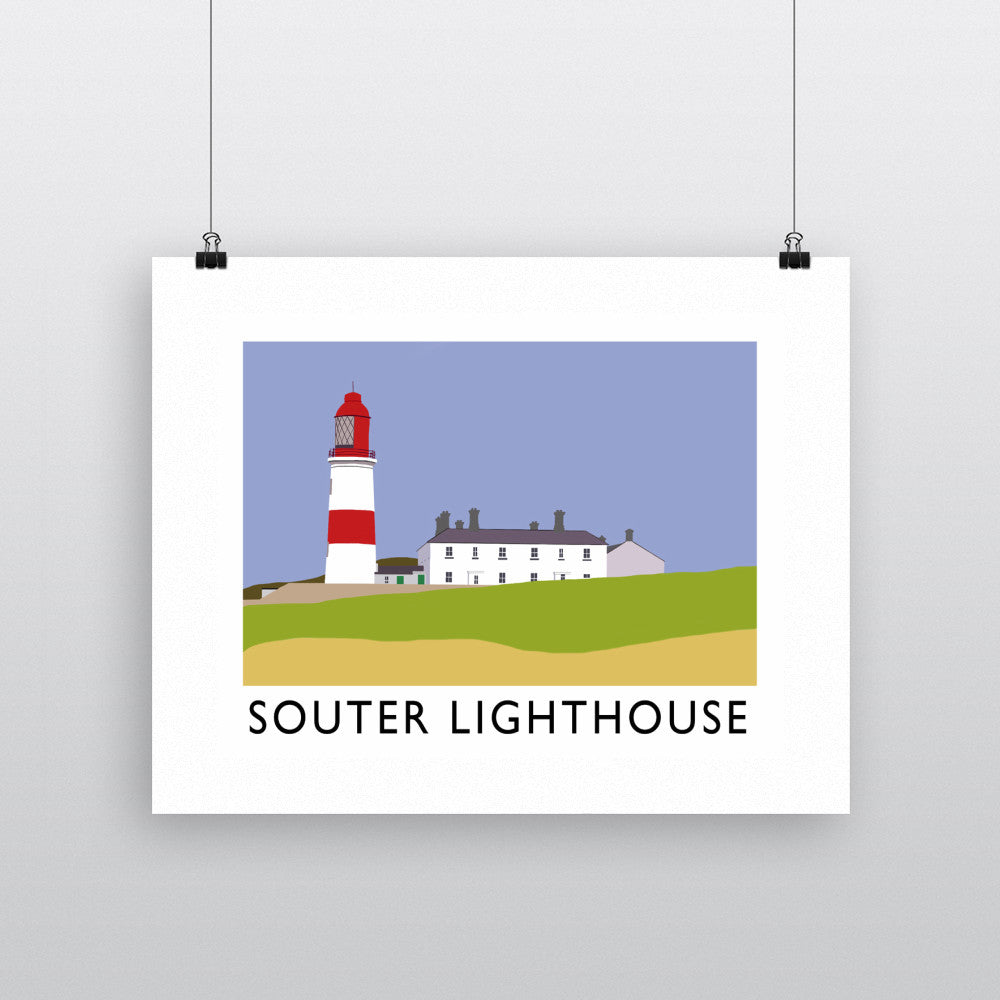 The Souter Lighthouse, Tyne and Wear Fine Art Print