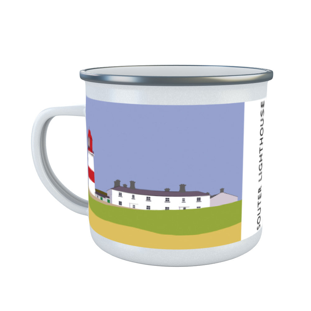 The Souter Lighthouse, Tyne and Wear Enamel Mug