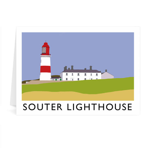 The Souter Lighthouse, Tyne and Wear Greeting Card 7x5