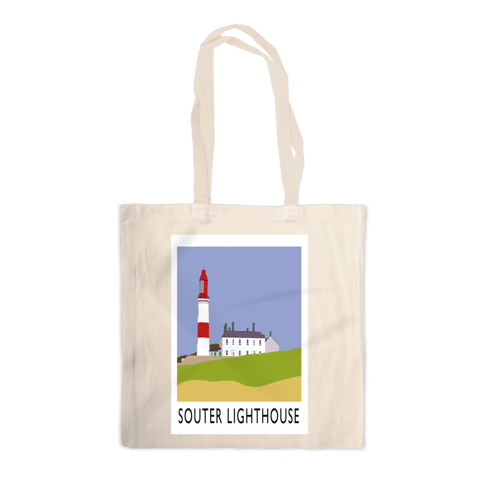 The Souter Lighthouse, Tyne and Wear Canvas Tote Bag