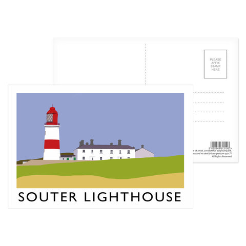The Souter Lighthouse, Tyne and Wear Postcard Pack