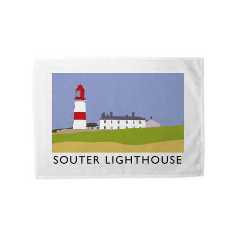 The Souter Lighthouse, Tyne and Wear Tea Towel