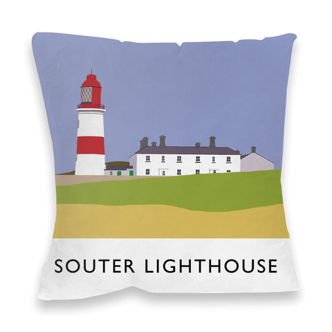 The Souter Lighthouse, Tyne and Wear Fibre Filled Cushion