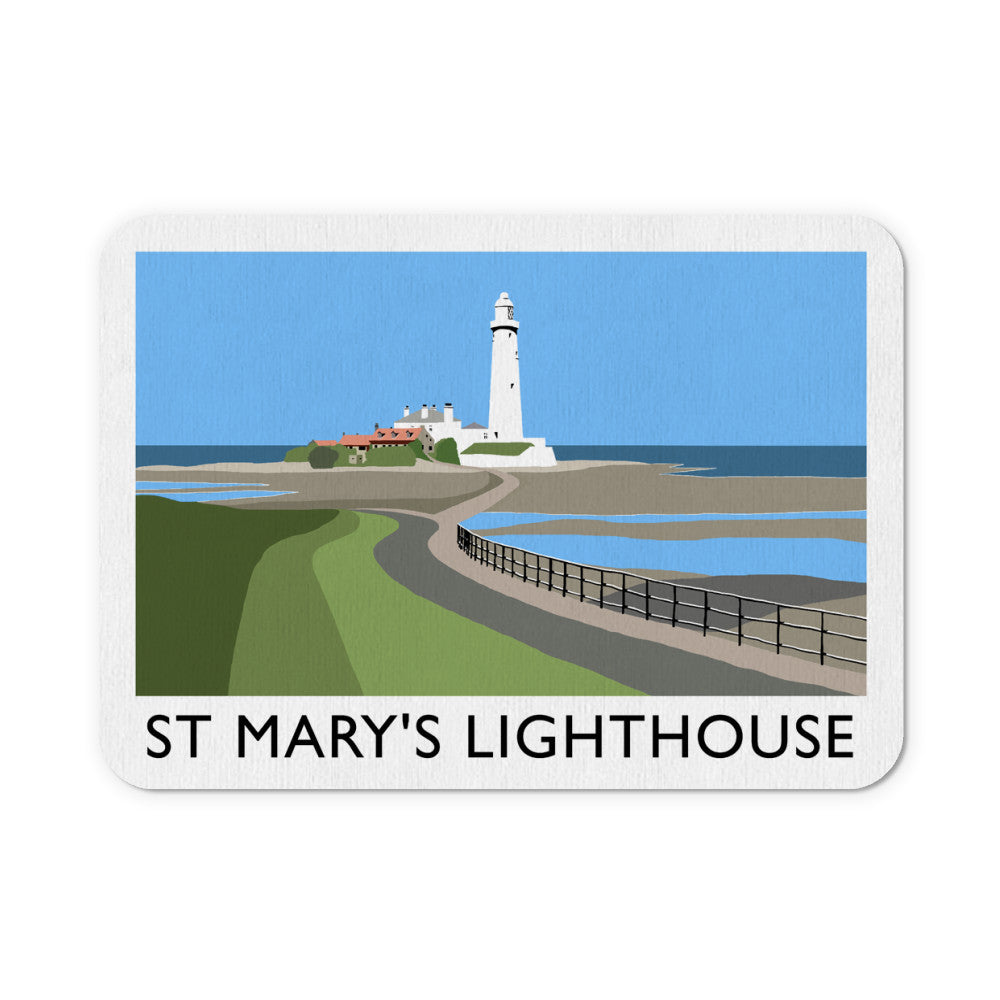 St Mary's Lighthouse, Whitley Bay Mouse Mat