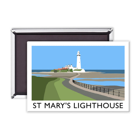St Mary's Lighthouse, Whitley Bay Magnet