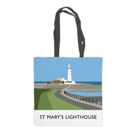 St Mary's Lighthouse, Whitley Bay Premium Tote Bag