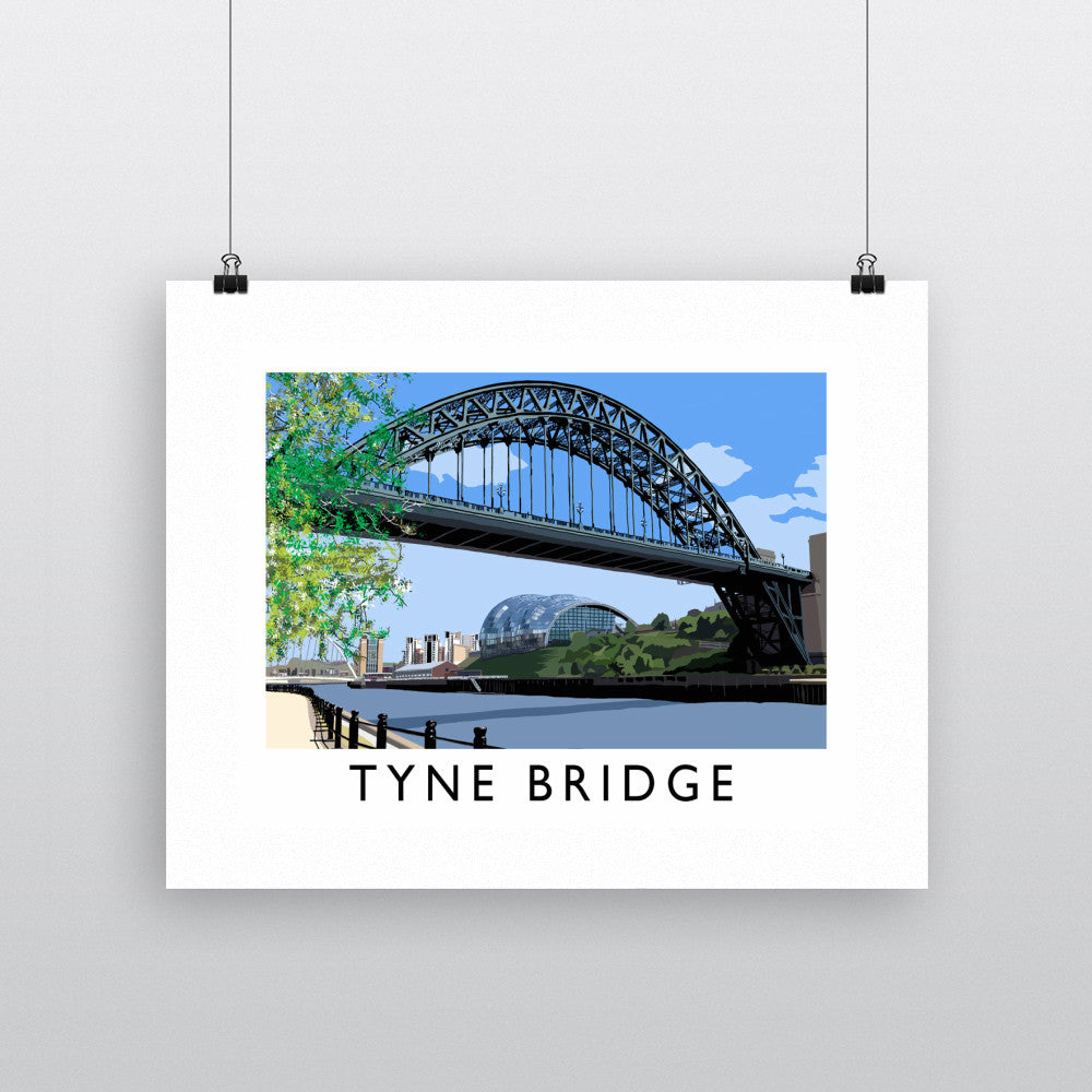 The Tyne Bridge, Newcastle Upon Tyne Fine Art Print