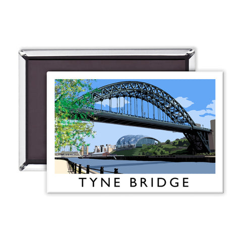 The Tyne Bridge, Newcastle Upon Tyne Magnet