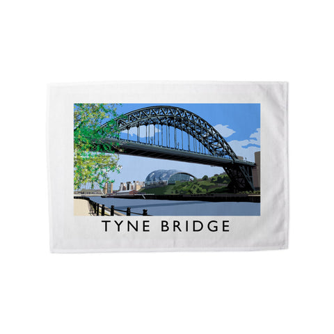 The Tyne Bridge, Newcastle Upon Tyne Tea Towel