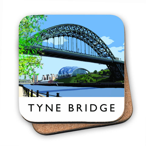 The Tyne Bridge, Newcastle Upon Tyne MDF Coaster