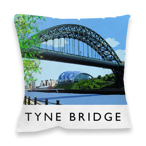 The Tyne Bridge, Newcastle Upon Tyne Fibre Filled Cushion