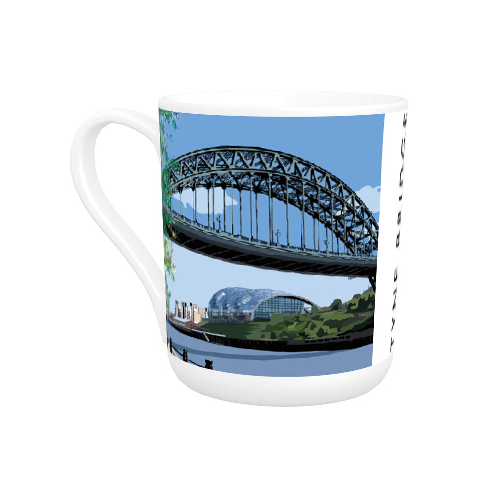 The Tyne Bridge, Newcastle Upon Tyne Bone China Mug