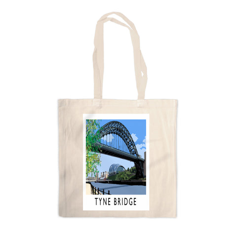 The Tyne Bridge, Newcastle Upon Tyne Canvas Tote Bag